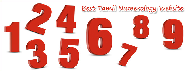 number astrology in tamil